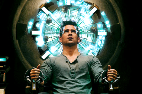 Colin Farrell in Total Recall (2012)