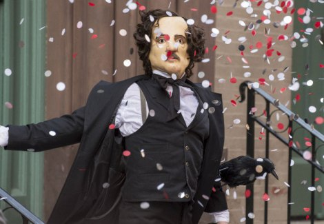 These Poe masks are probably going to be popping up a lot, so I should tell you that they kind of terrify me.