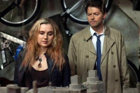 An unlikely duo, but Meg and Cas's dynamic makes for an entertaining heart-to-heart.