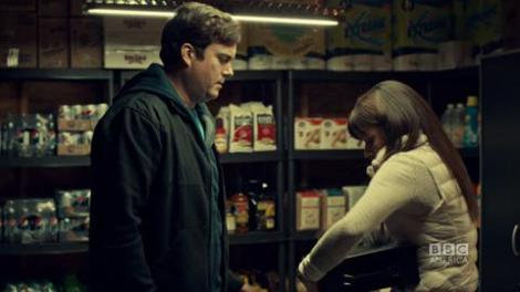 Alison confronts Donnie about his little black box.