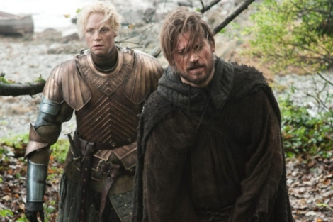 I applaud Brienne for not punching Jaime out by now, god knows I would have.
