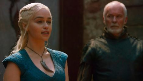 No one tells the Dragon what to do! You're emanating Viserys, Daenerys.