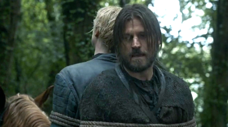 Jaime tells it like it is. He also manages to use that silver tongue to save Brienne from her misery.