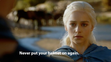 Same, Daenerys. Same. (from divers-wife @ tumblr)