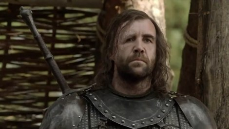 Few things make me happier than seeing Sandy Clegane again. None come to mind.