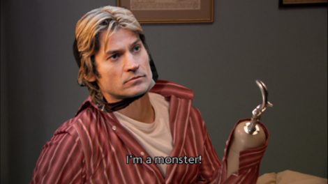 ONTD deserves a standing ovation for this manip. Jaime is sadly the Buster of this episode.