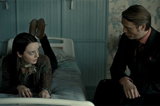 She's either going to wind up his protoge or in his bed - maybe both. I just get a weird Starling vibe here...