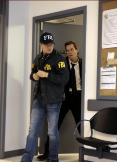 Ok well, I guess the FBI agent really didn't know what he was getting into walking into the interrogation room only to be held up by Ryan.