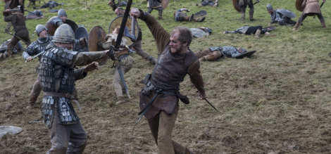 The best part about watching the Vikings kill is how intense they get into it. It's like Spartacus never ended!