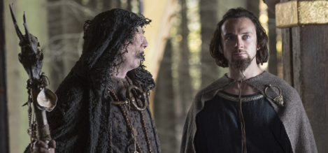 Athelstan, what are you doing with your hair? Who else did like a triple take?