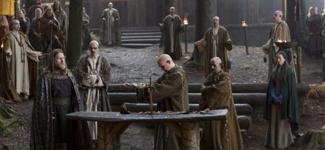 GoT Warlocks with Blue Lips vs Vikings Black Lipped Priests? Who wins?