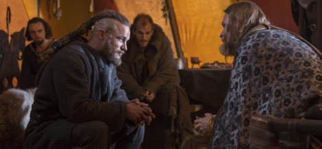 The very multitalented Donal Logue plays King Horik. I have a hard time seeing him in a non-humorous role.