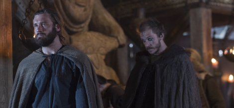 Rollo wasn't even invited to the meeting with King Horik! But Floki was! Or maybe he just followed them... who knows.