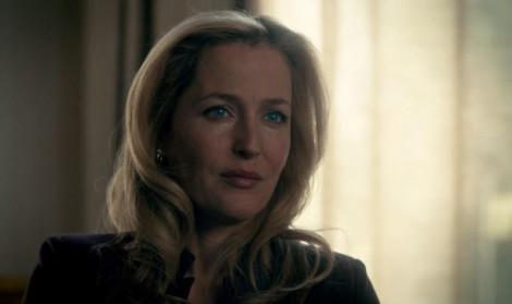 I actually think I'd be too intimidated to see Gillian Anderson as my psychiatrist.