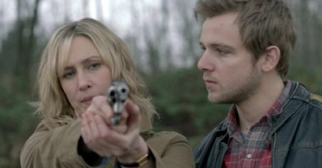 """... then squeeze the trigger gently, Mom."" Mother-Son Bonding Time."