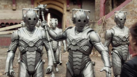 Looking spiffy with a new coat of chrome, this breed of Cybermen is no pushover.