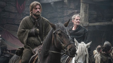 Jaime says goodbye to Brienne, or does he?