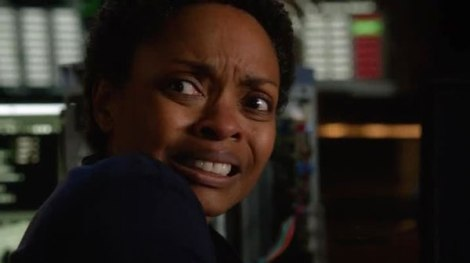 This was totally my face during this scene.