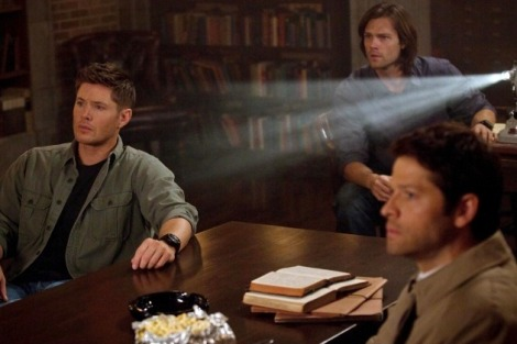 Team Free Will movie night.