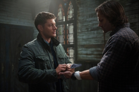 Dean tells Sam to let the trials go - they're not worth his life.