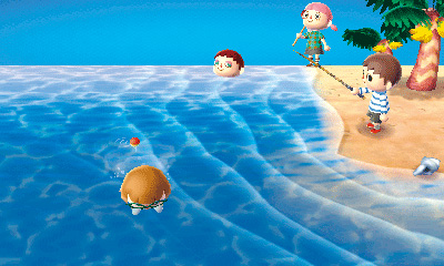 Tortemier's Island is one of the game's key features, and holds all sorts of exclusive fish, bugs, and fruit. You can also play games with other players via local or internet wireless connection.