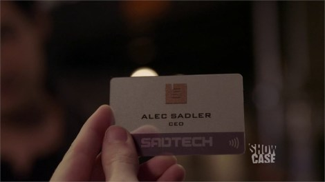 I always thought SADTECH was a foolish name for a company, it just sounds so pathetic.