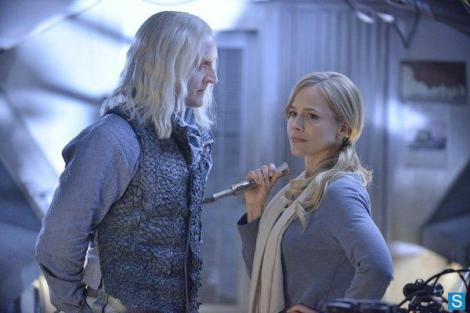 Datak is going to get all the power he wants with the help of his wife, much to Amanda's chagrin.