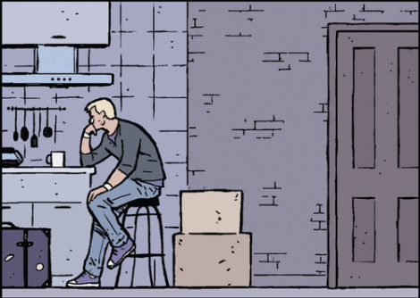 A lot of this series is just Clint sitting around being angst and getting into crazy shenanigans that he probably should have avoided in the first place.