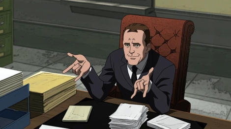 He also briefly dates Aunt May. (Who is younger in this version of the story.) Oh, Coulson. You dog.