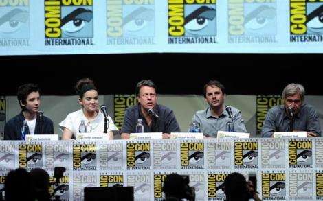 Blastr got a fantastic shot of everyone at the Hall H panel.