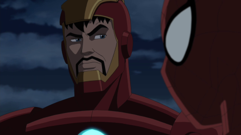 Tony gives Peter that look a lot.