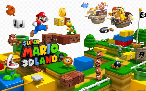 "I mean the game was called ""Super Mario 3D Land."" That was kind of the point."