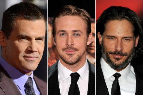 Josh Brolin, Ryan Gosling, and Joe Manganiello.