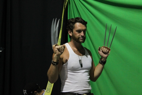Wolverine was one of my favorites of the day.
