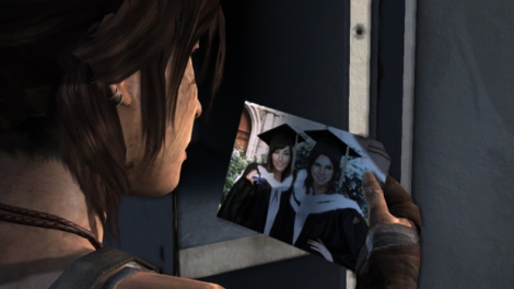 I was actually hoping for a bit of a romantic element here but I was sorely disappointed. [laracroft.wikia]