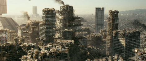 This is what Earth looks like in the future...well at least Los Angeles...absolutely devastating.