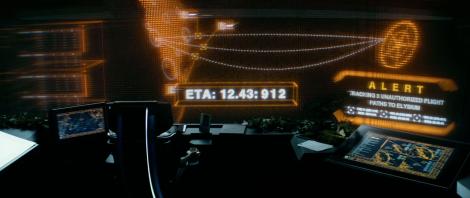 The control room on Elysium.