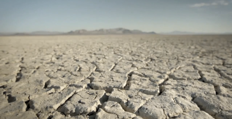 This is Black Rock Desert...the playa that Burning Man takes place.