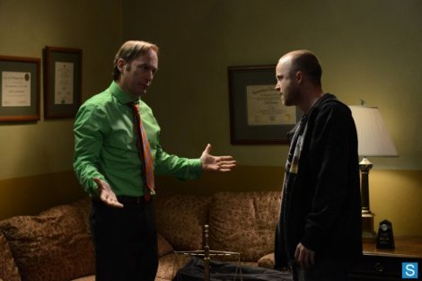 Saul has the same thought I did about throwing the money around. It's, uh, not been working out so well lately, Jesse.