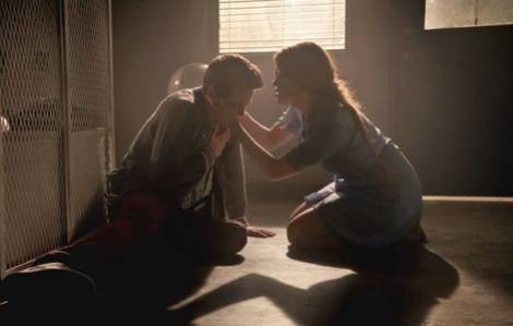 As beautiful as the moment between Stiles and Lydia was kissing someone who's having a panic attack is not advisable