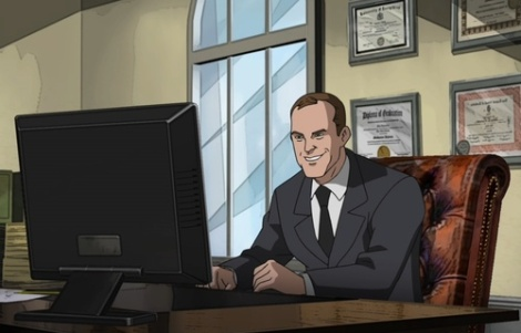 Coulson is so excited he's already writing fanfiction about it... [tumblr.com]
