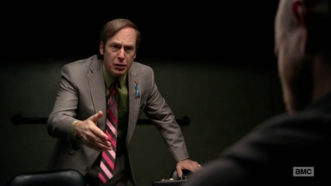 I just wanted them to bond over a hatred of Walt, okay? Super bros taking down Heisenberg. Thanks for nothing, Saul.