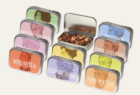 Can't decide? Adagio.com now offers fandom tea sampler sets!