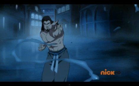 But mostly, I was distracted by shirtless Tonraq. What can I say? I'm only human.