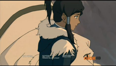 YEAH KORRA. I'M CONCERNED ABOUT WHY YOUR UNCLE HAS TROOPS INVADING YOUR HOME TOO.
