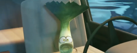 There's a leek in the boat!