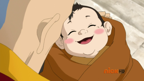 Have a cute baby Rohan to distract you from Aang rage.