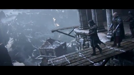Desmond, watching Ezio, watching Altair.