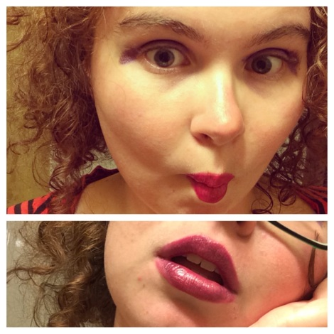 This was an attempt at the Transportation lip look, by the by...