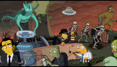And I JUST now noticed Kang and Kodos chilling in the back.